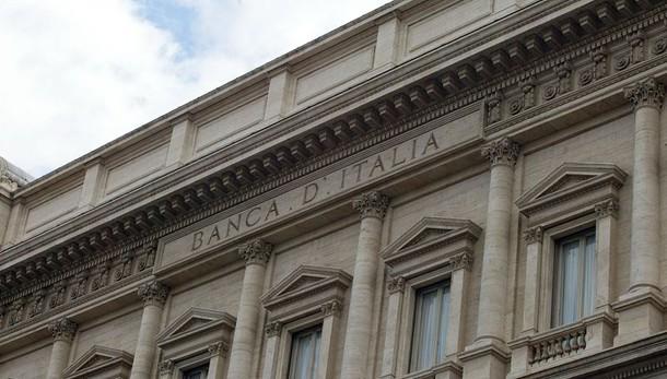 Bankitalia,debito sale a 2229 miliardi