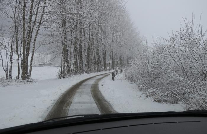 Neve in Val Seriana
