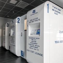 Dopo Orio arrivano anche a Malpensa le mini stanze per riposare in aeroporto