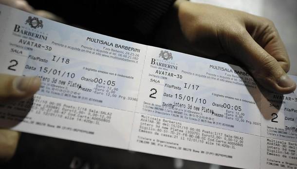 In 2016 venduti 105 mln biglietti cinema