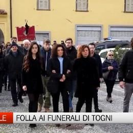 Sorisole: i funerali di Franco Togni