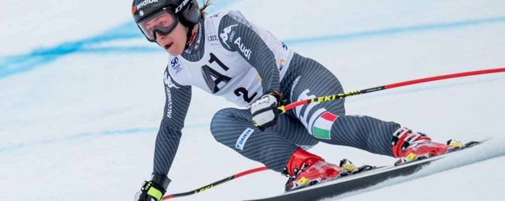 Discesa, Sofia Goggia vola Prima nelle prove a Garmisch