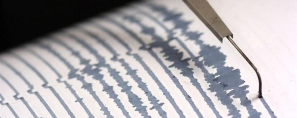 Lieve terremoto in Valseriana Il sisma alle 21.10, magnitudo 1.5