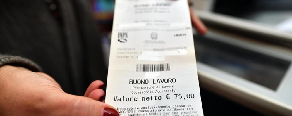 A Bergamo boom dei voucher 26 milioni  di euro in un solo anno