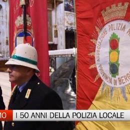 Bergamo, la Polizia Locale in festa