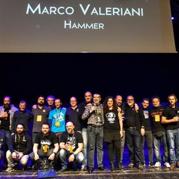Il birraio dell'anno è bergamasco Vince Marco Valeriani dell'Hammer