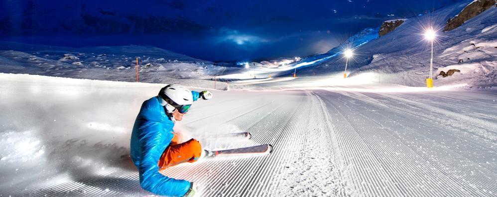 In Engadina sugli sci Esperienza unica