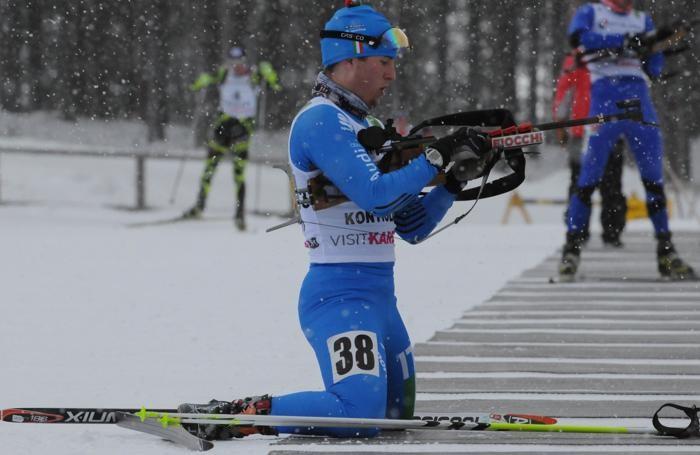 Einar Carrara, azzurro di Biathlon