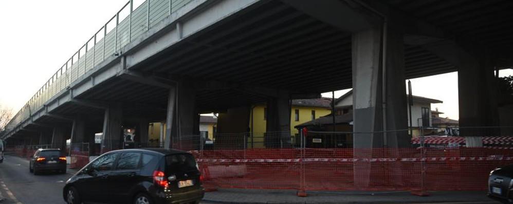 Boccaleone, prorogati i divieti Sale il costo dei lavori per il viadotto