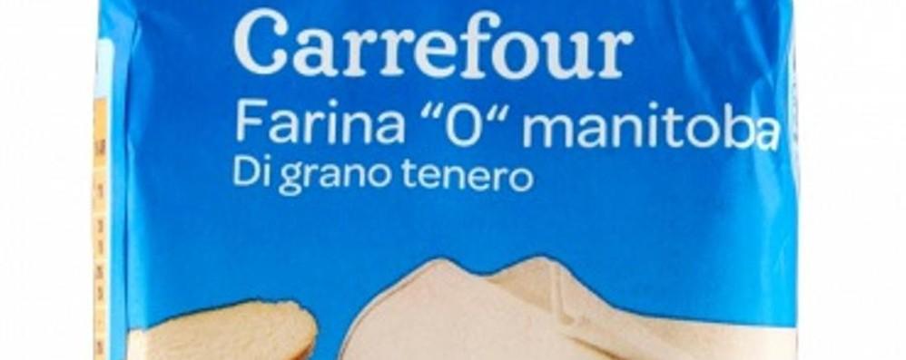 Carrefour richiama lotto di farina «Possibile presenza di soia»