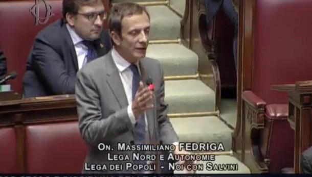 Lega: Fedriga, no ad alleanza con M5s