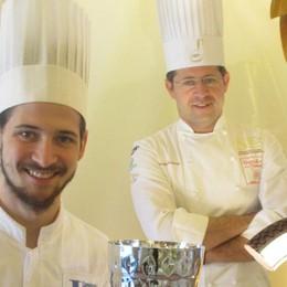 Argento ai mondiali di pasticceria Impresa del giovane Mattia Cortinovis