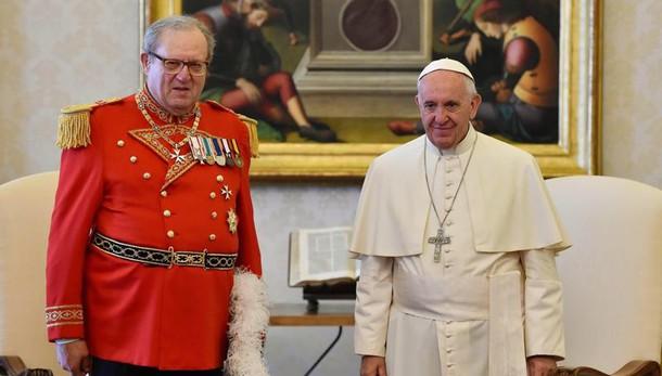 Dimissioni per Maestro Ordine Malta