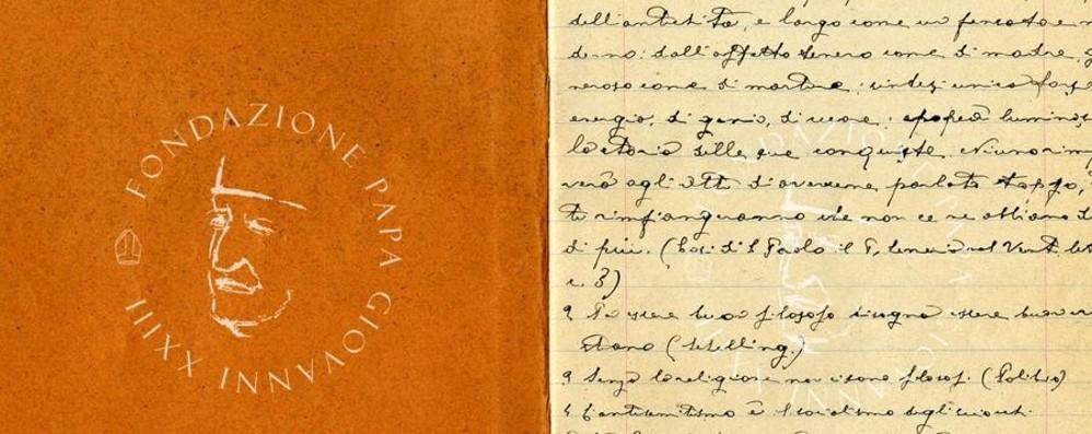 Papa Giovanni XXIII, svolta storica I suoi manoscritti vanno on line - Video