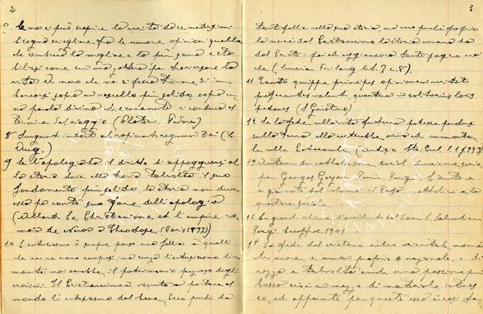 Un manoscritto di Papa Giovanni