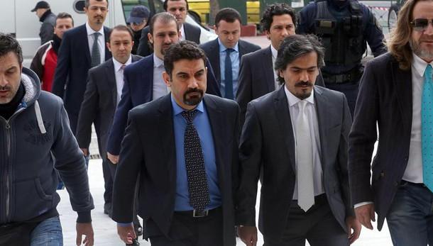 Grecia:'no estradizione militari turchi'