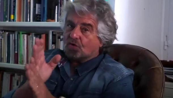 Grillo, voto o Legalicum al Senato