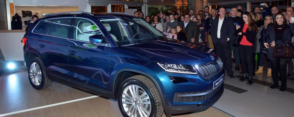 Suv Škoda Kodiaq presentato a Bergamo