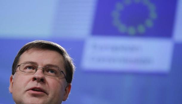 Dombrovskis, da Roma aspettiamo dettagli