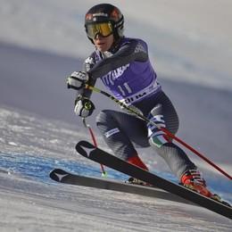 Sofia Goggia 2ª a Cortina per 5 centesimi «Gara bellissima, ma che amarezza»
