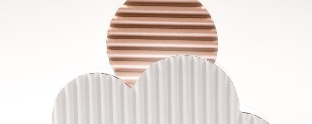 Il cartone diventa lampada design  Brignano e Cologno fanno squadra