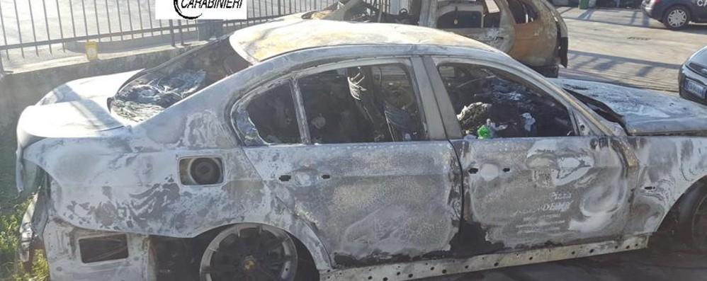 Incendia l'auto per avere l'assicurazione Denunciato 30enne di Verdello