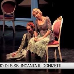 Sissi incanta il Donizetti