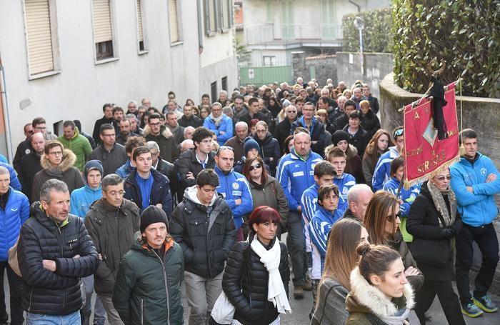 Funerale di Franco Togni a Sorisole