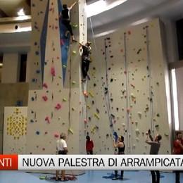 Palamonti, inaugurata la nuova palestra di arrampicata