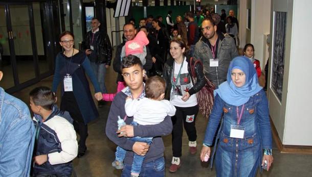 Corridoi umanitari, in 40 a Fiumicino