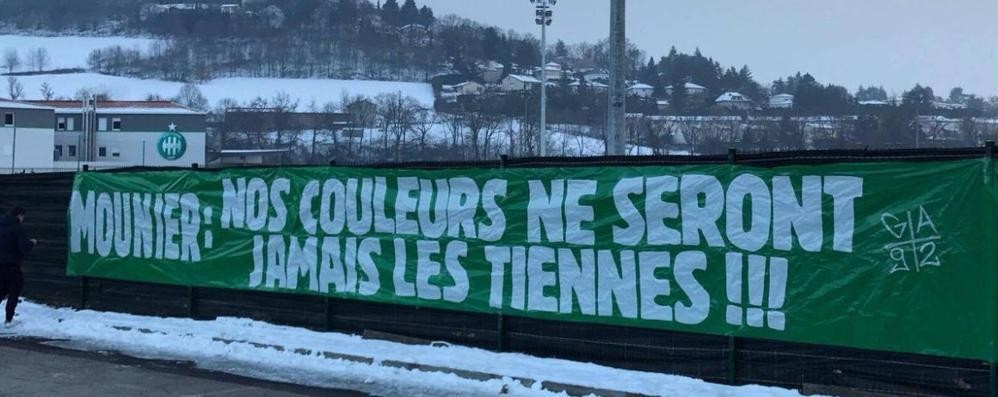I tifosi del Saint Étienne lo attaccano E Mounier sceglie l'Atalanta