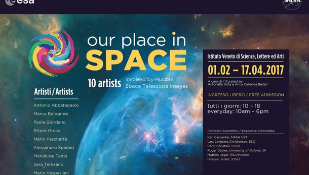 Nasa ed Esa a Venezia con l'Hubble +RPT+
