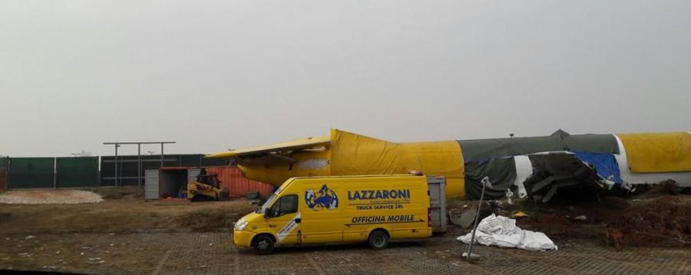 Orio al Serio, al via i lavori sull'aereo Si parte con il cantiere - Foto