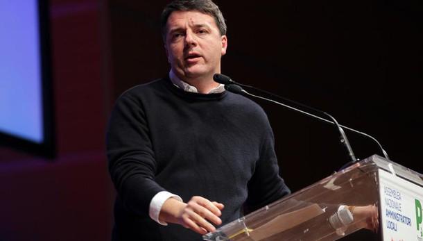 Pd: Renzi, congresso secondo regole