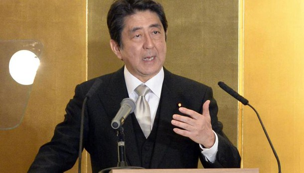 G7: Gentiloni sente Shinzo Abe