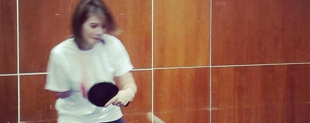 Incidente in moto, perse il braccio  Campionessa di ping-pong: torno al gioco