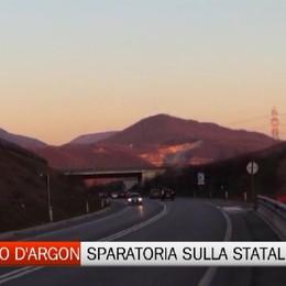 San Paolo d'Argon, sparatoria sulla statale
