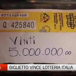 Venduto a Ranica il biglietto vincitore della Lotteria Italia