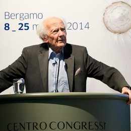 Addio a Zygmunt Bauman Fu ospite a Bergamo nel 2014