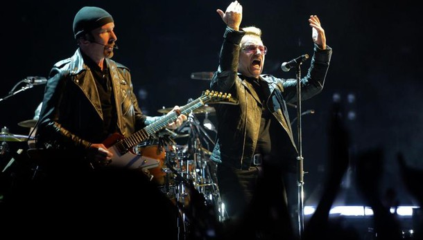 Gli U2 saranno il 15 luglio a Roma