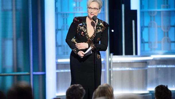 Streep vs Trump e lui: 'è Hillary lover'
