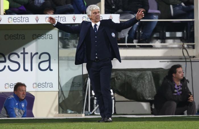 Serie A TIM 2017-18 giornata 6 fiorentina - atalanta gasperini gian piero