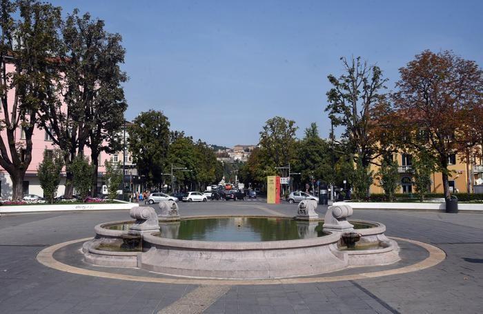 La fontana nel 2017