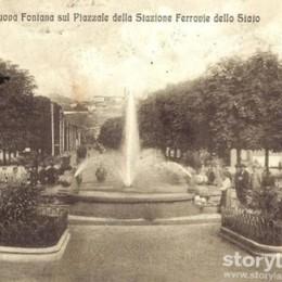 La fontana della stazione Una storia che parte da... Algua
