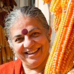 A Bergamo l'ecologista Vandana Shiva   «Il G7 percorre una strada senza uscita»
