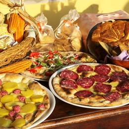 Gandino, menù prelibati e degustazioni È la prima sagra del «mais spinato»