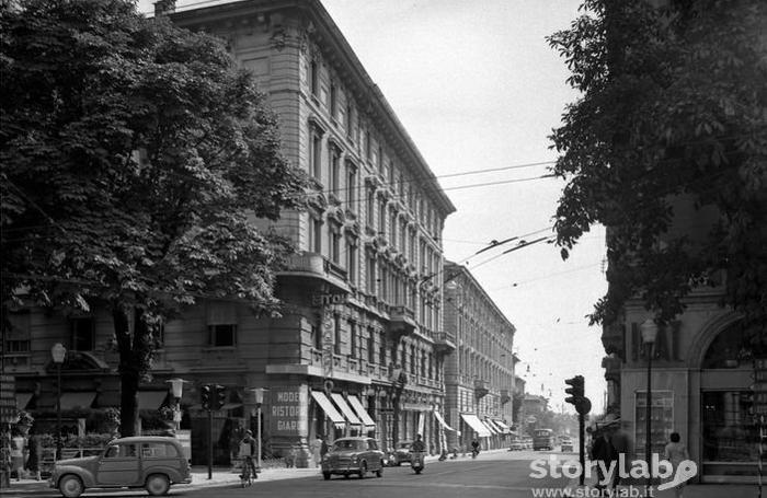 Via Palocapa, anni Cinquanta