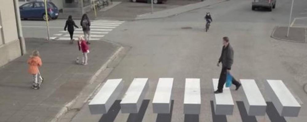 Islanda, strisce pedonali 3D A Bergamo convegno sul tema