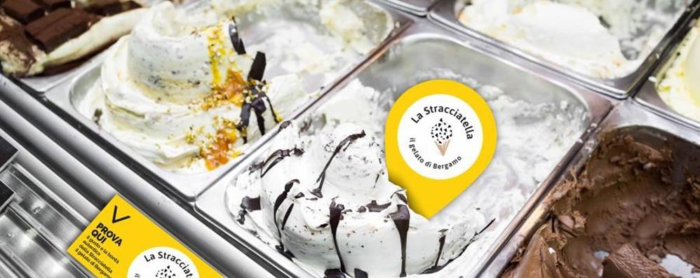 «La Stracciatella gelato di Bergamo» Sabato uno show cooking del gelato