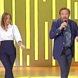 Si inizia ballando con Cristian De Sica  Cristina Parodi debutta a Domenica In